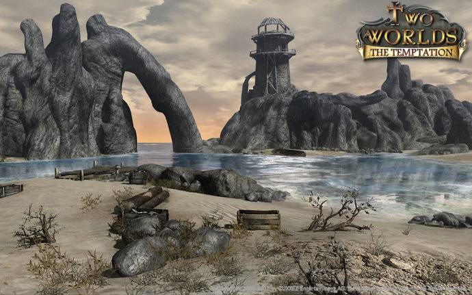 two worlds, the temptation, xbox 360, imagenes